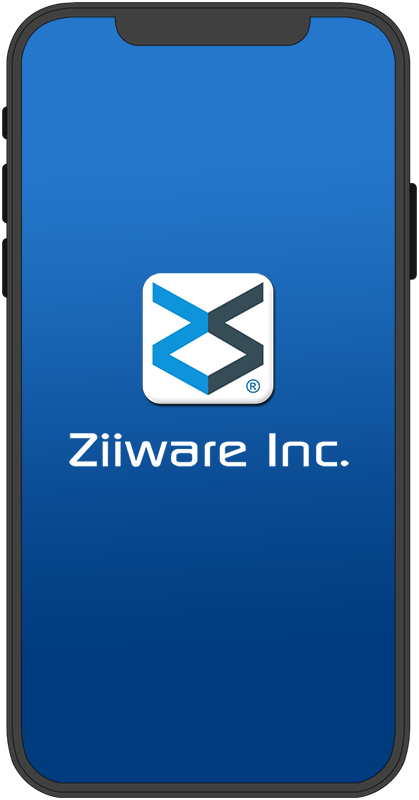 ziiware cell phone graphic